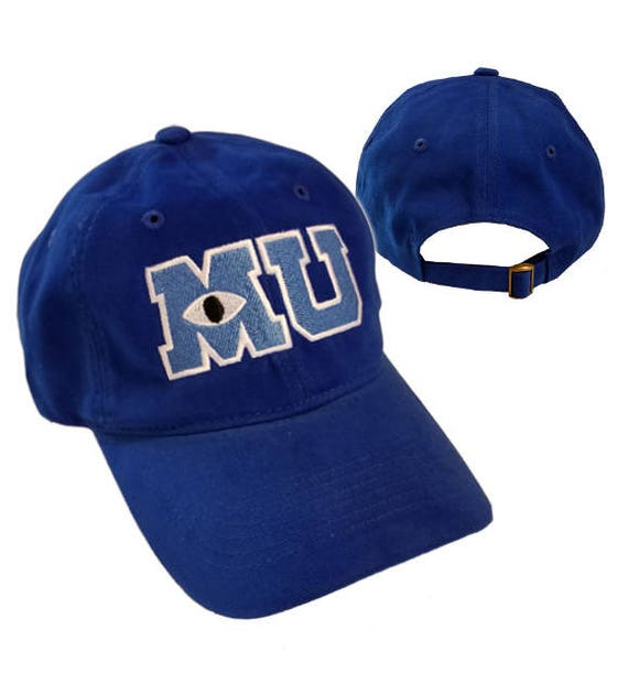 Monsters University Mu Hat Mike Halloween Costume Embroidered Etsy
