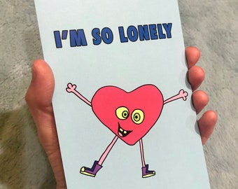 I'M SO LONELY Greeting cards (10 count)