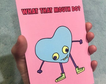 What that mouth do? Greeting cards (10 count)