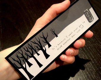 The Road - BOOKMARK