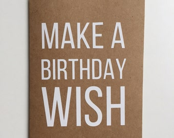 Make a Birthday Wish