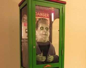 "Mechanical Herman Munster * ""The Munsters ""  Coin Operated Shocking Machine - Handmade/OOAK"
