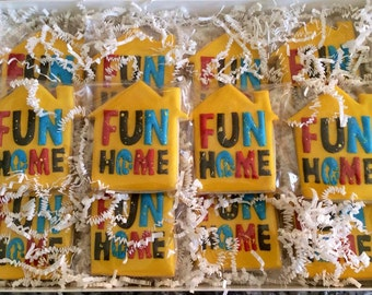 Decorated Broadway Show Sugar Cookies! Theater Cookie Set- Theater Lover Sugar Cookies