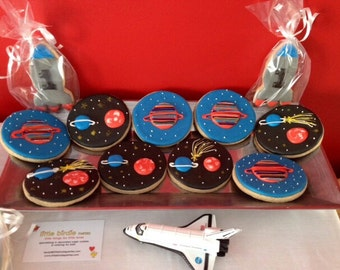 Rocketship Cookies