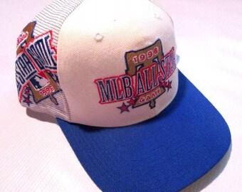 Vintage Sports Specialties 1996 MLB All Star Game Laser Snapback Hat