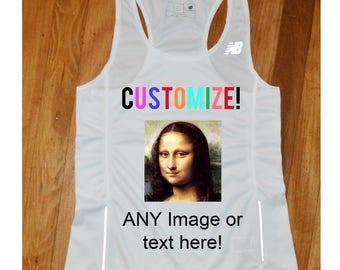 1d25c82a8d29d Women s Custom Running Singlet - Custom Running Tanktop - Custom Running  Shirt