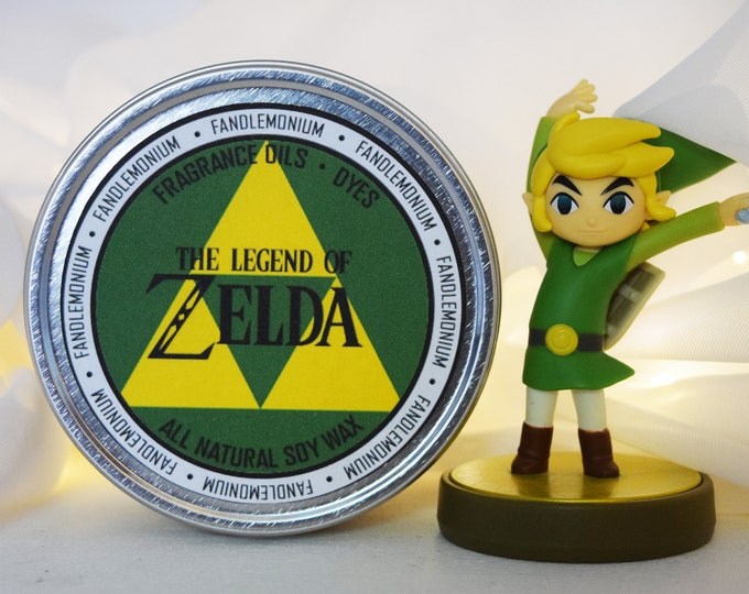 Legend of Zelda Inspired Scented Candle