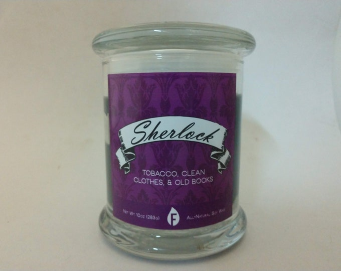 Sherlock Holmes Inspired Scented Candles
