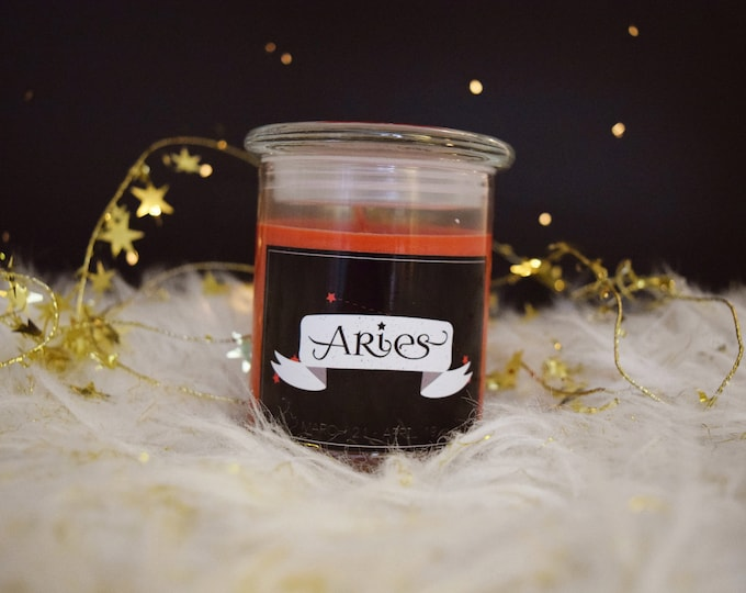 Zodiac Star Sign Inspired Scented Candles Set One