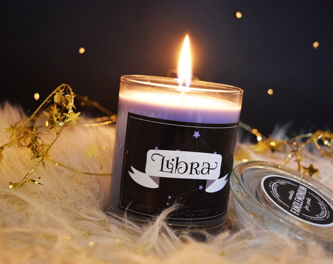 Zodiac Star Sign Inspired Scented Candles Set Two