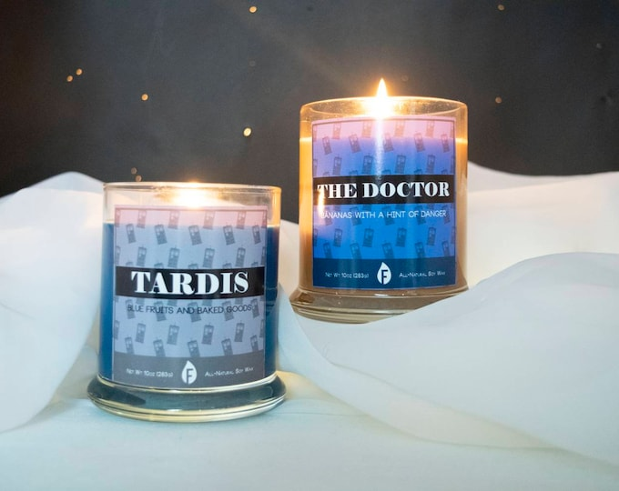 Doctor Who Inspired Scented Candles