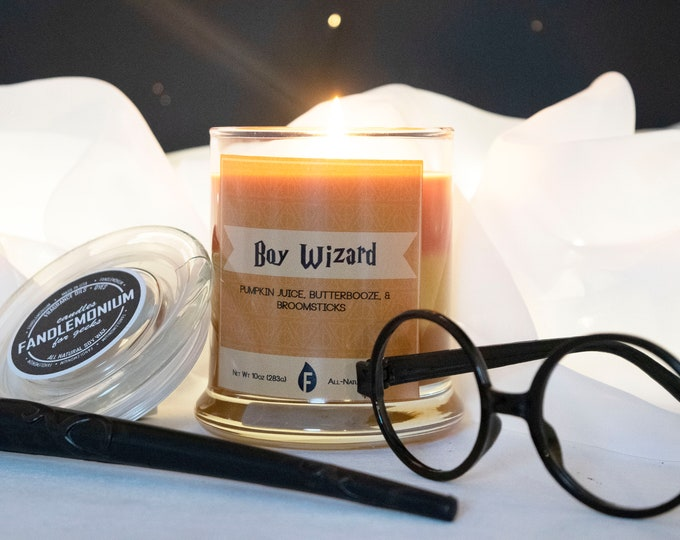 Harry Potter Inspired Scented Candles