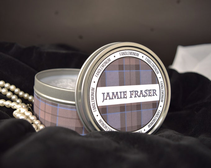 Jamie Fraser Outlander Inspired Scented Candle