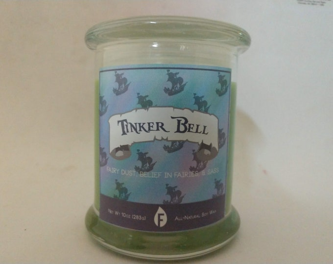Peter Pan Inspired Scented Candles