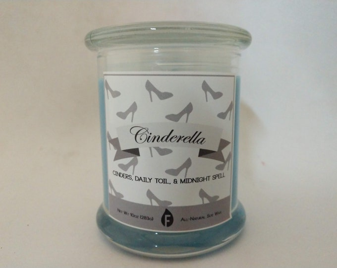 Princess Inspired Scented Candles
