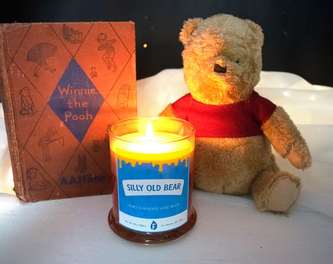 Silly Old Bear Inspired Candle
