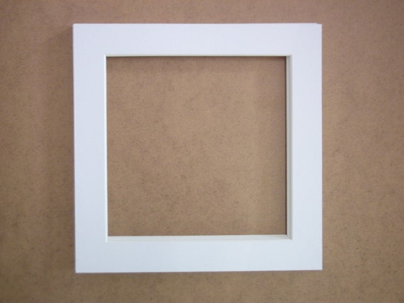 mats and frames - square picture frame - 10 x 10 white frame - 10 x ...