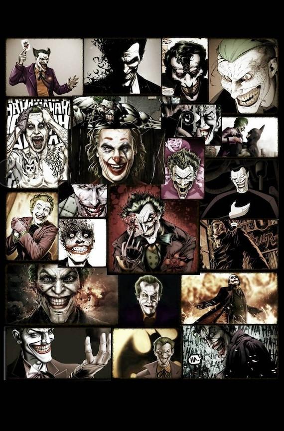 Joker Original Collage Art