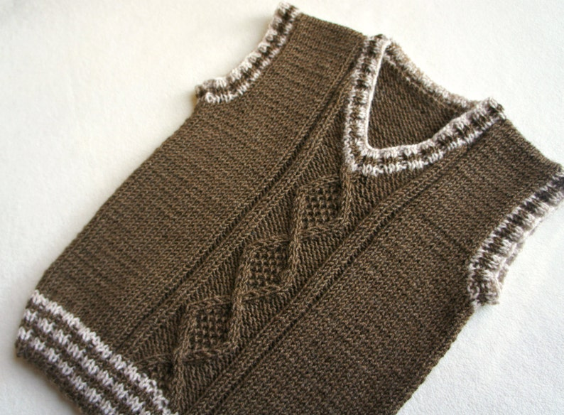 e3ff6808a Children hand knitted wool vest Knitted Baby  Toddler Vest
