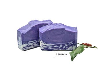 Handmade Gift Soap Vegan Soap Mothers Day Gift Organic Soap Gift For Her Gift For Mom Moisturizing Soap Scented Soap Cosmos Gift Soap