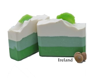 Handmade Soap Gift For Her Gift For Mom Cold Process Soap Organic Soap Moisturizing Soap Ireland