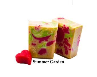 Gift For Her Gift For Mothers Day Bar Soap Bulk Prices Organic Soap Moisturizing Soap Sented Soap Artisan Gift Soap Summer Garden