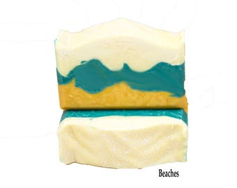 Beach Soap Homemade Soap Bars Gift For Mom Cold Process Soap Gift For Friend Handmade Soap Moisturizing Soap Bulk Priced Soap Organic Soap