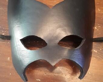 Batwoman leather superhero Mask