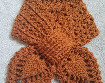 Crochet Neckwarmer Scarf Elegant Looking Neckwarmer Winter Scarf Warm Accessory
