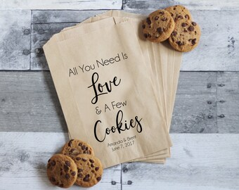 9de88370be4f Wedding Cookie Bags