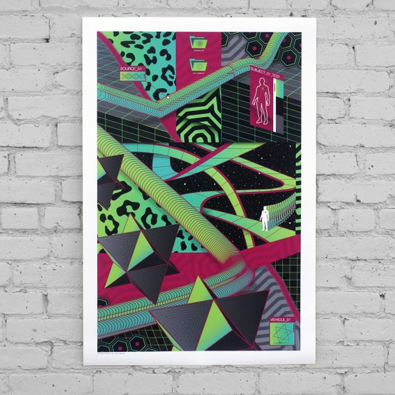 Ascension Test 01 // Limited Edition Print