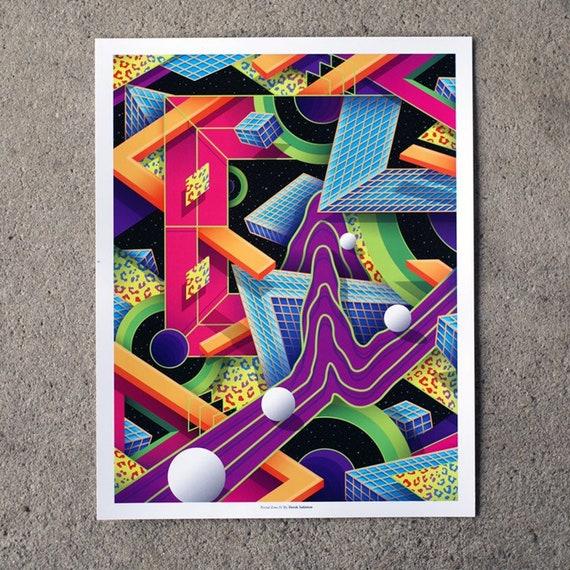 "11""x14"" Portal Zone 01 Limited Edition Print"
