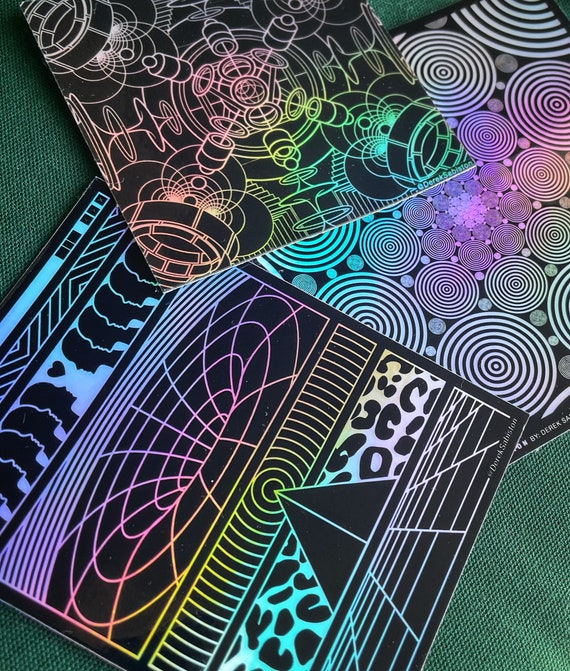 Sticker Pack 03 // Holographic