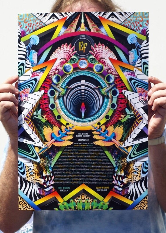 Electric Forest 2018 Poster