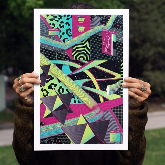 """12""""x18"""" Ascension Test 01 // Limited Edition Print"""