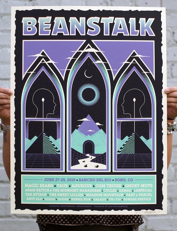 2019 Beanstalk Music Festival Official Poster