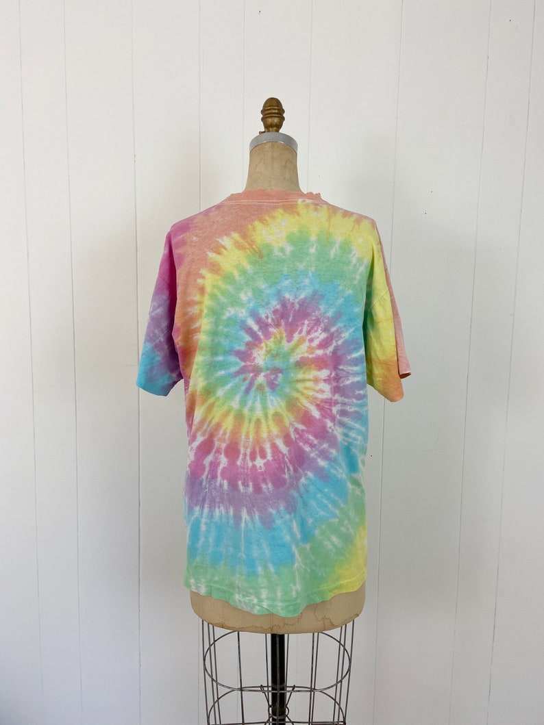 Vintage 80/'s GRATEFUL DEAD Tie Dyed T-shirt  Dancing Bears