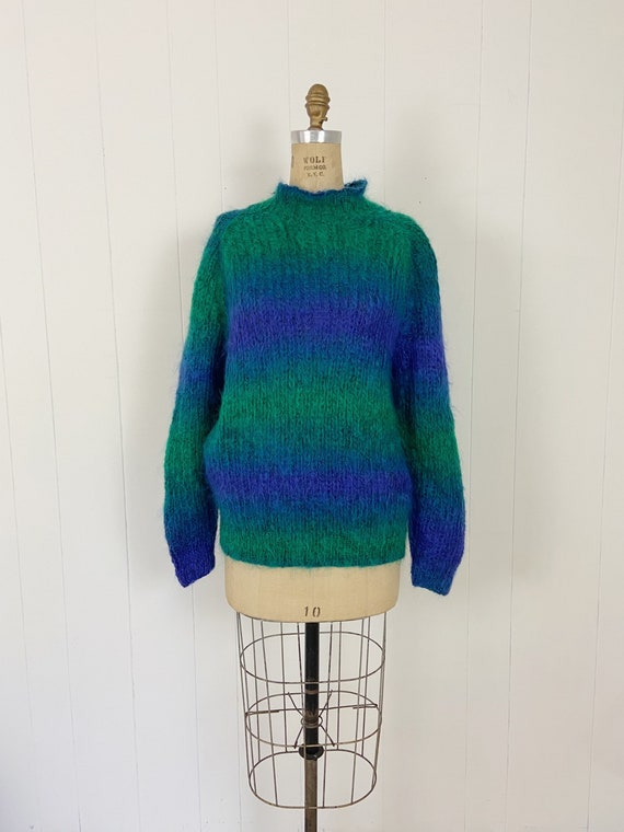 Vintage Handknit Mohair Slouchy Sweater