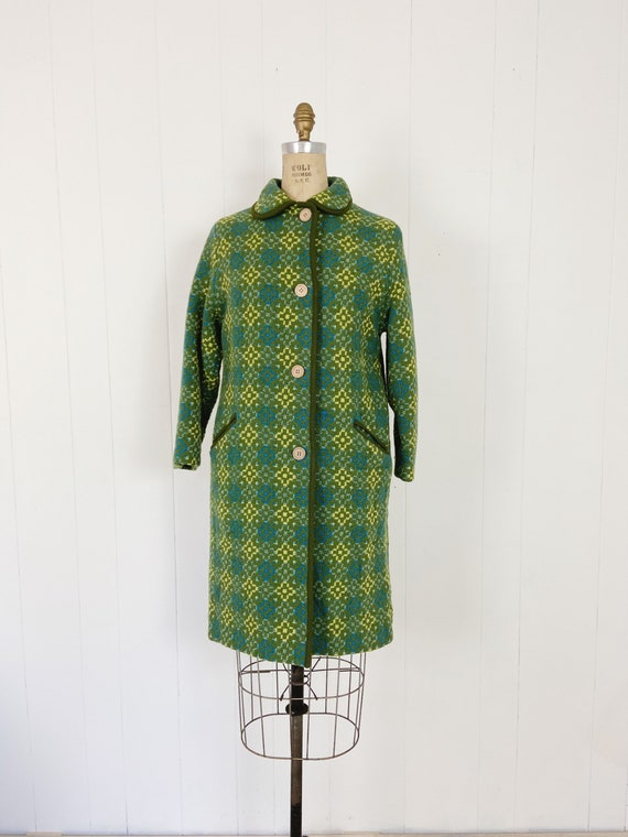 Vintage 60's Welsh Tapestry Coat