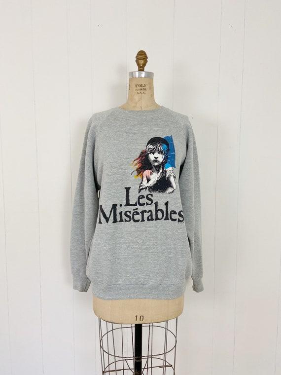 Vintage 80's LES MISERABLES Raglan Sleeve Sweatshi