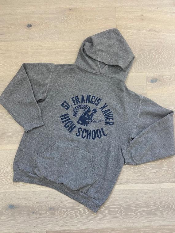 70's Russell Athletic High School Hoodie Sweatshi… - image 1