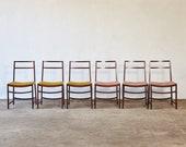 Minimal Dining Chairs by Renato Venturi for MiM Roma, Italy, 1950s