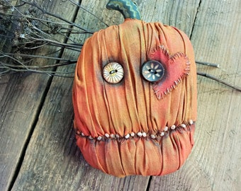A very angry orange pumpkin for any day! Not just for Halloween!))