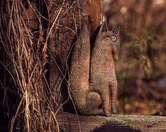 Primitive fox