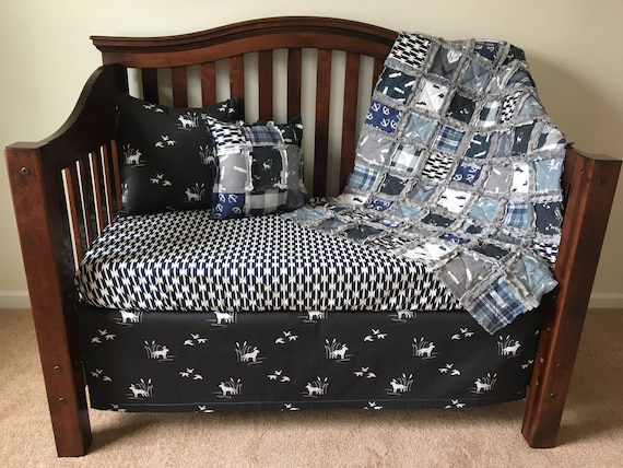 Little Duck Hunter Nursery Collection, Duck Hunting Baby Bedding