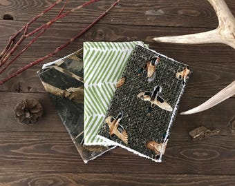 Duck Hunting Baby Burp Cloths, 3 Pack, Duck hunting baby gift, camo baby burp cloths, duck hunting burp cloths, realtree camo baby gift