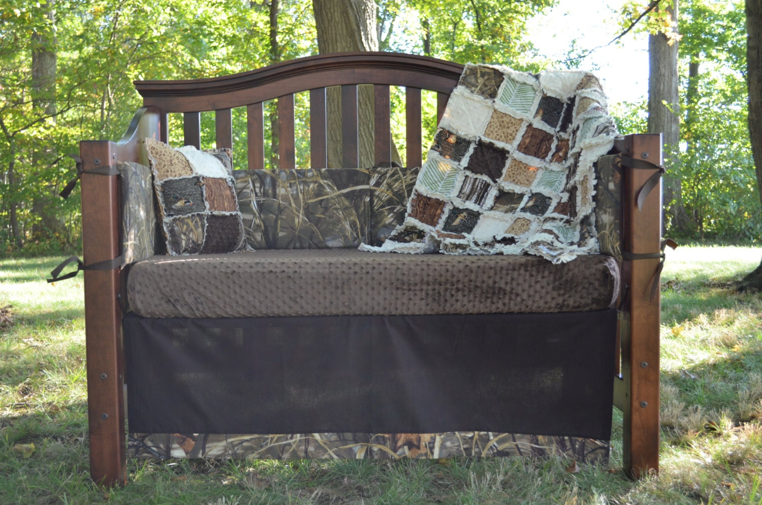 Duck Hunt Custom Baby Bedding And Nursery Sets Hunting