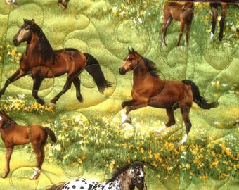 Horse saddle rack cover 10 storage pockets washable navy quilted cotton show storage item show award redwhite horse shoe print