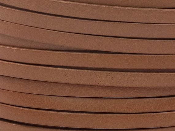 "50 Yards Saddletan Calf Leather Lace 3//32/"""