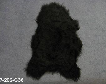 Dyed Icelandic Sheepskin: Blacky Brown (7-202-G36)